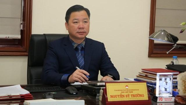 Ông Nguyễn Sỹ Trường.