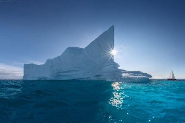 Xứ sở lạnh giá Greenland.