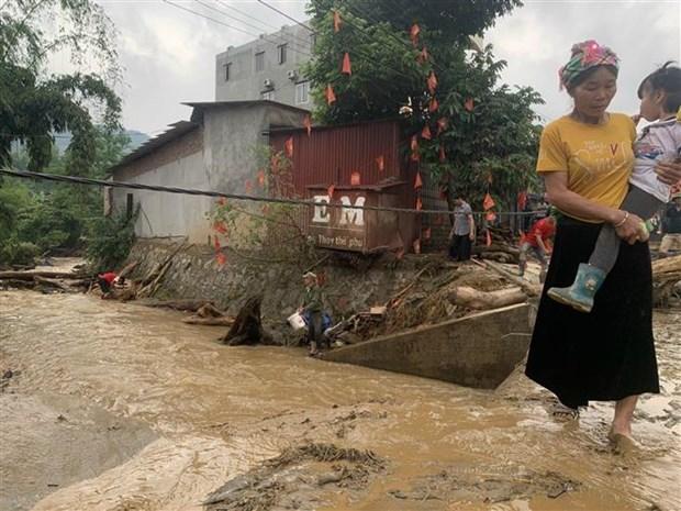 Tìm thấy 2 thi thể bị lũ cuốn ở Lào Cai - Ảnh 1