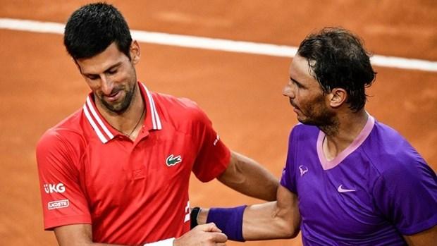 Nadal lần thứ 6 vượt qua Djokovic ở Rome Masters. (Nguồn: Reuters).