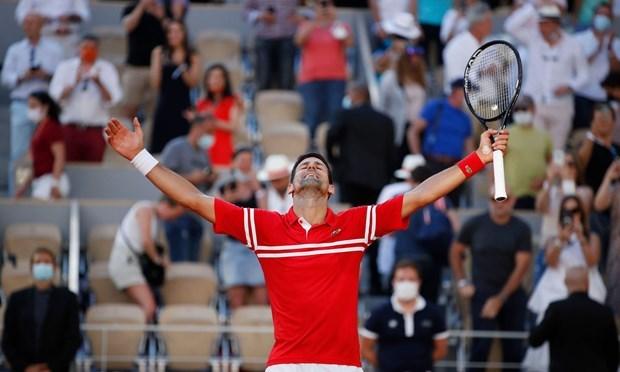Djokovic chơi tuyệt hay để thắng ngược khó tin. (Nguồn: Reuters).