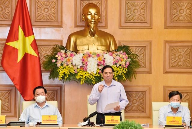 Thủ tướng Chính phủ Phạm Minh Chính: Sứ mệnh của những người làm báo đầy ý nghĩa, tự hào, vẻ vang nhưng cũng vô cùng gian nan và vất vả. Ảnh: VGP.