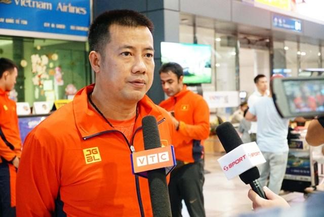 HLV trưởng đội tuyển quần vợt Việt Nam, ông Trương Quang Vũ.