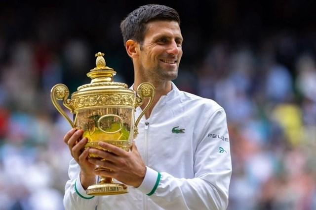 Djokovic vô địch Wimbledon 2021.