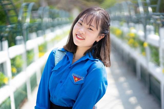 Cô gái sinh năm 2001 từng nhiều lần tham gia công tác tình nguyện.