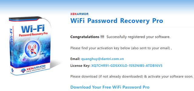 Thủ thuật tìm lại mật khẩu của các mạng WiFi đã kết nối trên máy tính - Ảnh 2