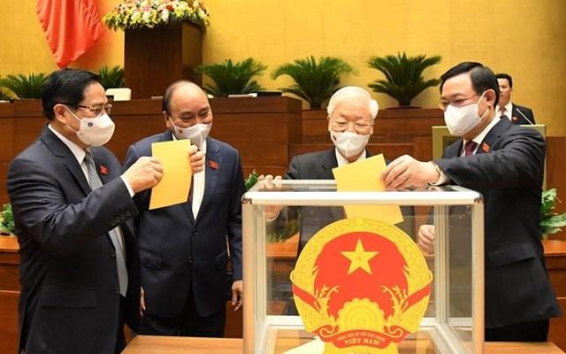 Hôm nay, Quốc hội phê chuẩn việc bổ nhiệm các Phó Thủ tướng, Bộ trưởng và thành viên Chính phủ.
