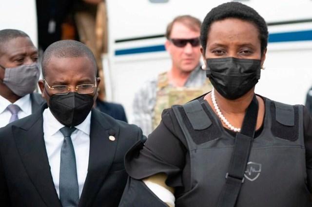 Đệ nhất phu nhân Haiti Martine Moise (Ảnh: Getty).