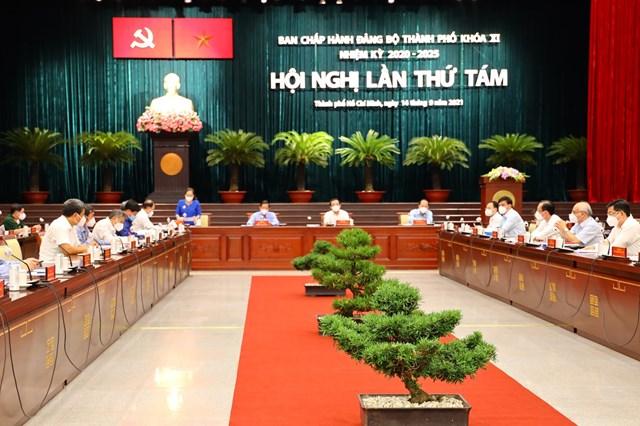 Hội nghị Ban Chấp hành Đảng bộ TP HCM lần thứ 8, khóa XI khai mạc chiều 14/9.