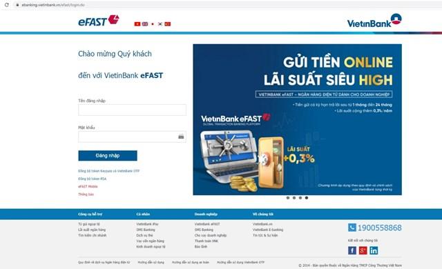Với tính năng vượt trội cùng nhiều ưu đãi, VietinBank eFAST đã và đang trở thành sự lựa chọn hàng đầu của các KHDN