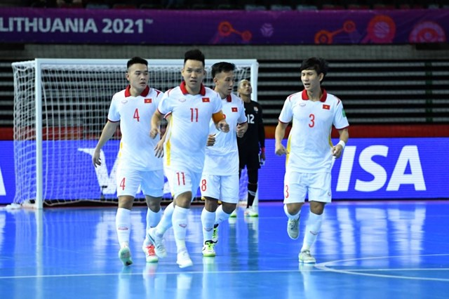 Futsal Việt Nam buộc phải giành điểm trước Cộng hòa Séc. (Nguồn: VFF).
