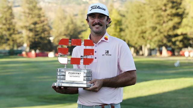Max Homa vô địch giải golf Fortinet Championship 2021 - Ảnh 1