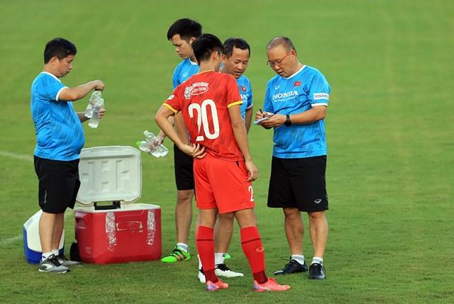 HLV Park Hang Seo sẽ dồn sức cùng tuyển Việt Nam cho 2 trận đấu gần ở vòng loại World Cup 2022.