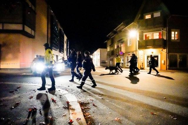 Cảnh sát Na Uy đang điều tra vụ tấn công. Ảnh: Reuters.