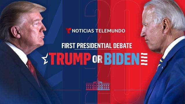 Cuộc tranh luận Trump - Biden, ngày 29/9/2020.