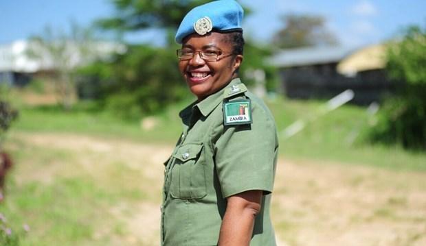 Gương mặt giành Giải thưởng Nữ cảnh sát Liên hợp quốc 2020 - Ảnh 1