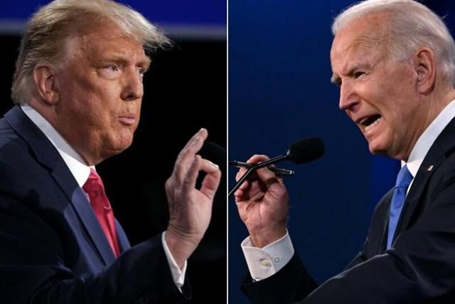 Tổng thống Donald Trump và Tổng thống đắc cử Joe Biden (Ảnh: AFP).