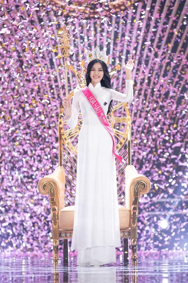 Giây phút đăng quang của Hoa hậu Đỗ Thị Hà.