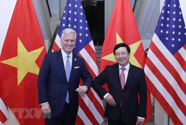 'Quan hệ Việt Nam-Hoa Kỳ chưa bao giờ phát triển mạnh mẽ như hiện nay' - Ảnh 1
