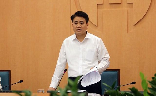 Cựu Chủ tịch Hà Nội Nguyễn Đức Chung.