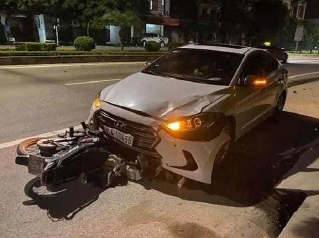 Thanh tra viên Sở GTVT Hưng Yên gây tai nạn chết người - Ảnh 1