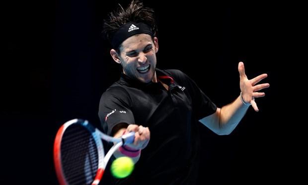 Thiem lại bỏ lỡ cơ hội đăng quang ATP Finals. (Nguồn: Getty Images).