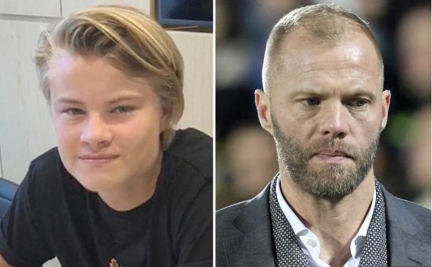 """Cựu sao Chelsea, Eidur Gudjohnsen cũng có ba người con nối nghiệp mình là Andri Lucas, Sveinn Aron và Daniel Tristan. Sveinn, 22 tuổi, đang thi đấu cho đội Spezia tại Serie B còn Andri Lucas, 18 tuổi thì đã gia nhập học viện La Fabrica mùa hè năm ngoái. Trong khi đó, người con út Daniel Tristan, 12 tuổi thì đang rèn luyện ở """"lò"""" Infant B của Barca."""