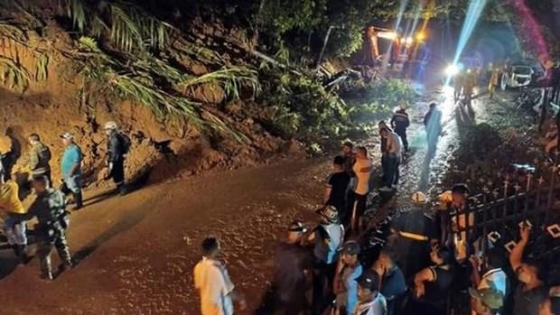 Hiện trường vụ lở đất ở Colombia. (Nguồn: lapiragua.co).