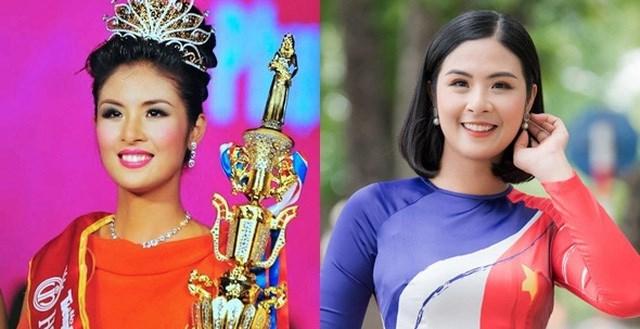 Hoa hậu Mai Phương Thúy thời điểm đăng quang.
