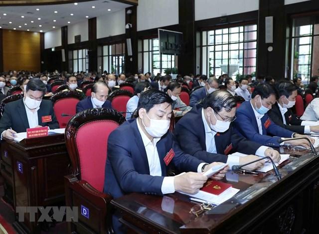 Đại biểu dự Hội nghị. Ảnh: Phương Hoa/TTXVN.