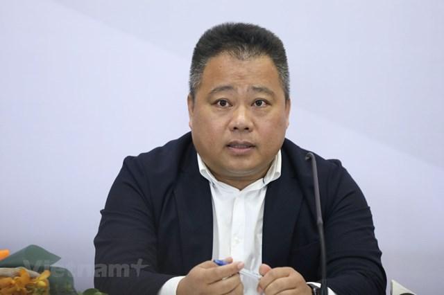 Phó chủ tịch VFF, ông Nguyễn Minh Ngọc làm Tổng Giám đốc công ty VPF. (Ảnh: Hiển Nguyễn/Vietnam+).