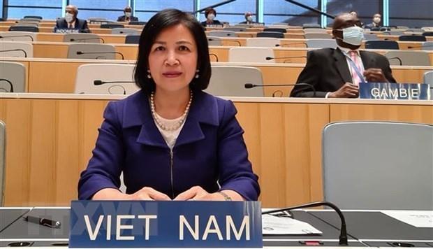 Đại sứ Lê Thị Tuyết Mai. (Ảnh: Tố Uyên/TTXVN).