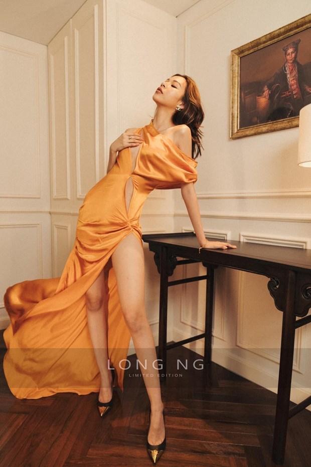 Lý Nhã Kỳ thể hiện nữ quyền trong thiết kế thời trang đầy gợi cảm - Ảnh 3