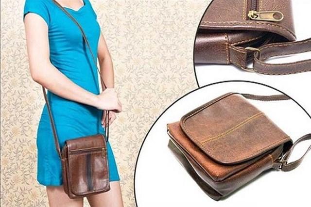 Túi xách nhỏ gọn sẽ giúp bớt những vật không cần thiết, tránh bị kẻ cướp chú ý.