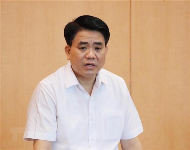 Bị cáo Nguyễn Đức Chung. (Ảnh: TTXVN).
