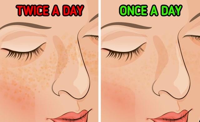 Điều gì sẽ xảy ra nếu bạn chỉ rửa mặt mỗi ngày một lần? - Ảnh 5