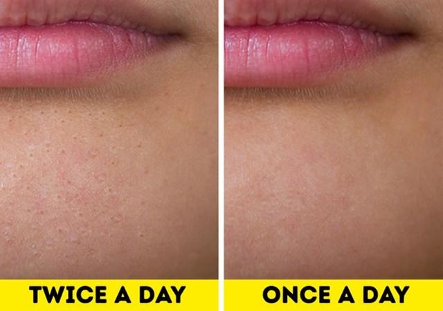 Điều gì sẽ xảy ra nếu bạn chỉ rửa mặt mỗi ngày một lần? - Ảnh 1