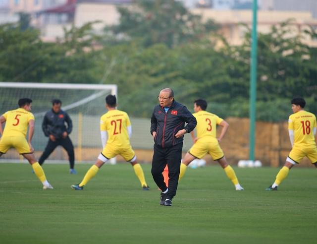 HLV Park Hang Seo sẽ theo dõi sát sao các học trò trong 2 trận giao hữu tới đây.