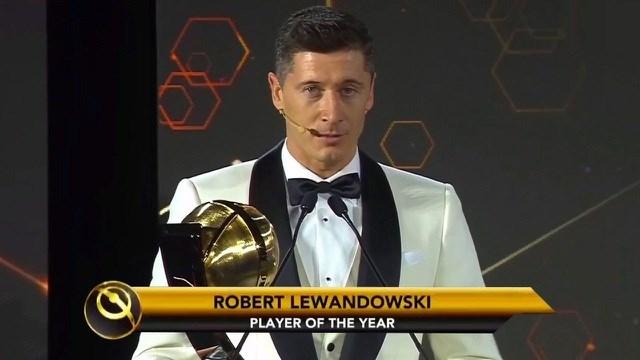 Lewandowski một lần nữa vượt qua C.Ronaldo và Messi để nhận giải Cầu thủ xuất sắc nhất năm 2020.