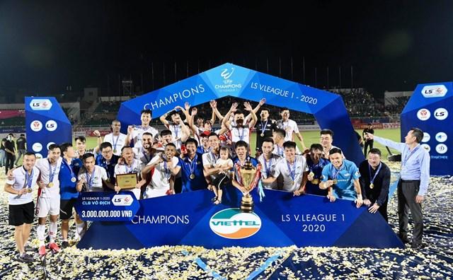 V-League 2020, Cúp Quốc gia, các giải hạng Nhất, hạng Nhì kết thúc trọn vẹn. Nguồn: Dân trí.