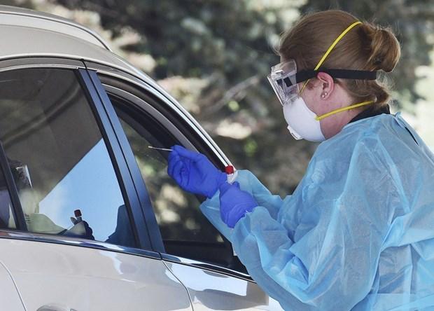 Ca đầu tiên tại Mỹ nhiễm biến thể mới của virus SARS-CoV-2 là ở bang Colorado. (Nguồn: AP).