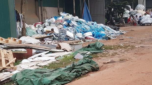 Vĩnh Phúc: Lo ngại tình trạng ô nhiễm và xâm lấn đất đai ở làng nghề - 1