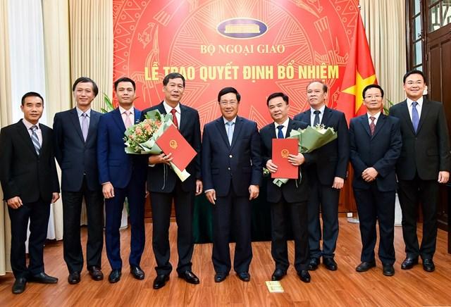 Bộ Ngoại giao bổ nhiệm 2 Tổng Lãnh sự Việt Nam tại Ấn Độ và Lào