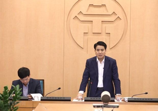 Chủ tịch Hà Nội Nguyễn Đức Chung bác bỏ tin đồn 'phong tỏa thành phố'