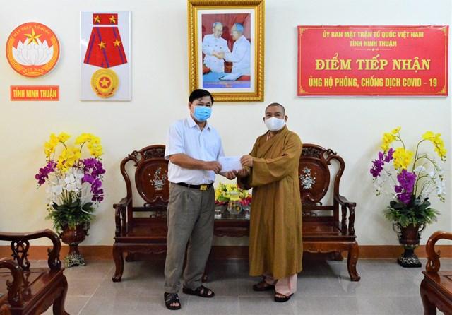 Ninh Thuận: Gần 9 tỷ đồng ủng hộ phòng, chống dịch Covid-19 - 1