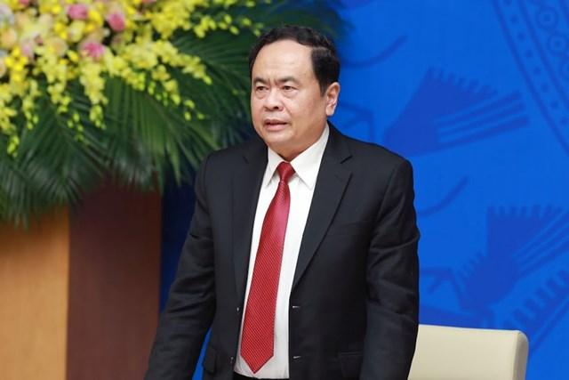 Hội nghị đánh giá việc thực hiện quy chế phối hợp công tác giữa Chính phủ và MTTQ Việt Nam - 4
