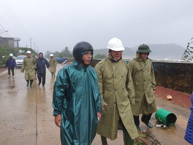 Quảng Ngãi: Tập trung phòng chống bão số 6