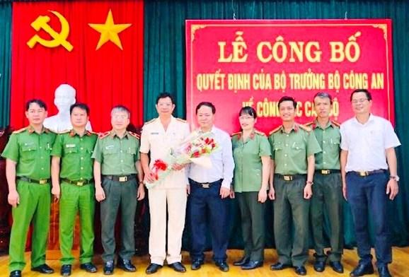 Thượng tá Phạm Trường Sơn giữ chức Trưởng Công an TP Tam Kỳ