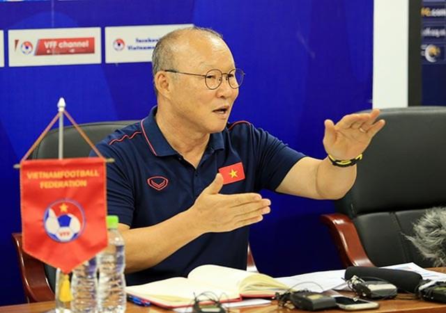 HLV Park Hang Seo: Chưa sẵn sàng cho mục tiêu World Cup