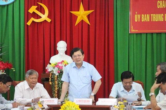 Vĩnh Long: Củng cố lòng tin của nhân dân vào hiệu quả hoạt động của MTTQ Việt Nam